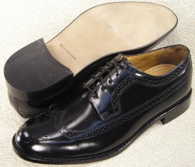 Picture of Bostonian Malden Wingtip Oxford (Black)