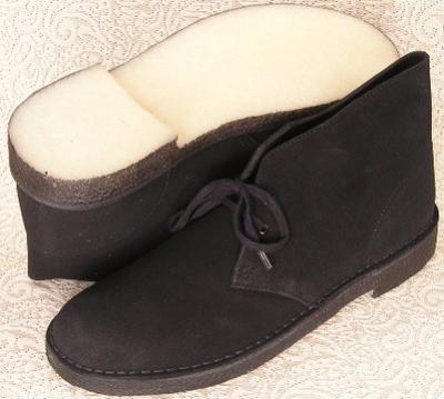 Picture of Clarks Desert Boot (Black)