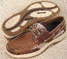 Picture of Sebago Clovehitch Boat Shoe (Dark/Taupe)