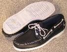 Picture of Sebago Docksides (Navy Calf) 72722 M