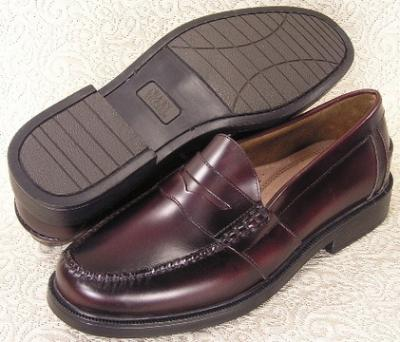 Picture of Nunn Bush Lincoln Penny Loafer (Burgundy)