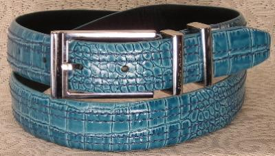 Picture of Stacy Adams Belt Croco 6 113 Tur