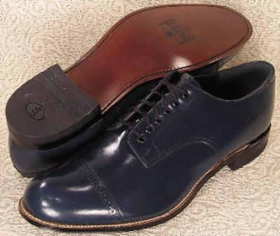 Picture of Stacy Adams Madison Original Oxford (Navy)