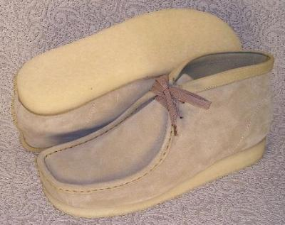 Picture of Clarks Wallabee Boot Original (Sand)