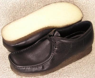 Picture of Clarks Wallabee Shoe Original (Black)