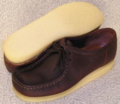 Picture of Clarks Wallabee Shoe Original (Brown)