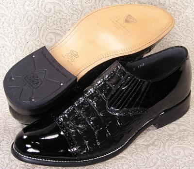 Picture of Stacy Baldwin Hornback Slipon (Black)
