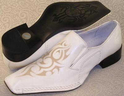 Picture of Bravo Fashions Leonard Slipon (White)