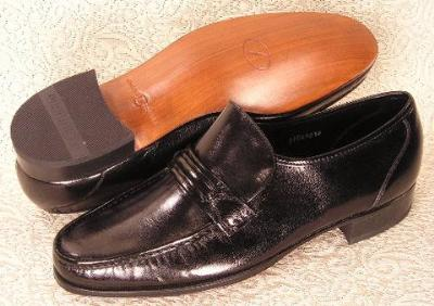 Picture of Florsheim Como Strap Slipon (Black)