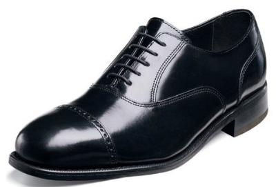 Picture of Florsheim Lexington Cap Toe Oxford (Black)