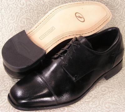 Picture of Florsheim Welles Cap Toe Oxford (Black)