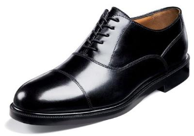 Picture of Florsheim Dailey Cap Toe Oxford (Black)