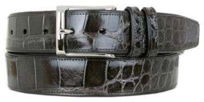 Picture of Mezlan 7907 Belt Alligator (Grey)