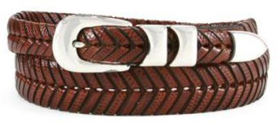 Picture of Mezlan 2794 Belt Iguana Woven