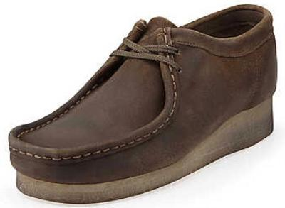 Picture of Clarks Wallabee Shoe Original (Distressed)