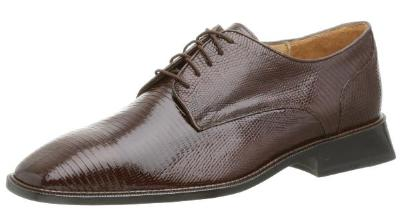 Picture of Belvedere Olivo Lizard Oxford (Brown)