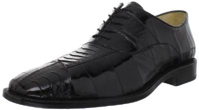Picture of Belvedere Mare Ostrich EEL Oxford (Black)