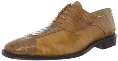 Picture of Belvedere Mare Ostrich EEL Oxford (Camel)