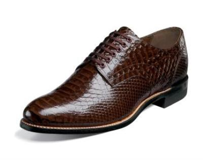 Picture of Stacy Adams Madison Anaconda Oxford (Brown)