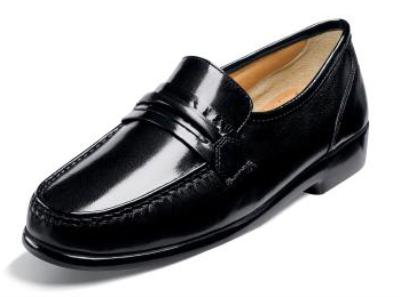 Picture of Nunn Bush Bentley Softy Slipon (Black)