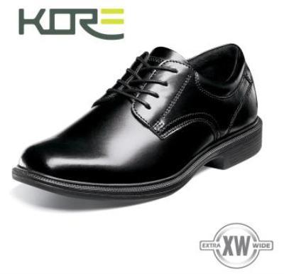Picture of Kore Baker St Plain Toe Oxford (Black)