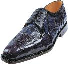 Picture of Belvedere Susa Crocodile Oxford (Navy)