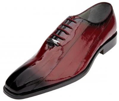Picture of Belvedere Stella EEL Oxford (Scarlet/Red)