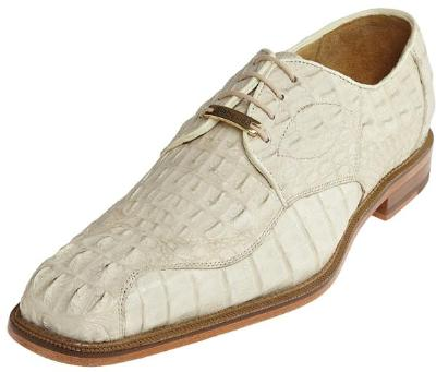 Picture of Belvedere Chapo Crocodile Oxford (Bone)