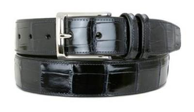 Picture of Mezlan 7907 Belt Alligator (Blue)