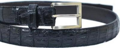 Picture of Belvedere Belt Genuine Hornback Crocodile