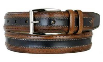 Picture of Mezlan 8859 Belt Calfskin (Two/Tone)
