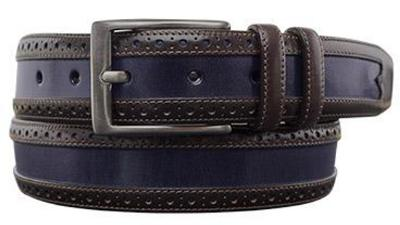 Picture of Mezlan 9389 Belt Calfskin (Two/Tone)