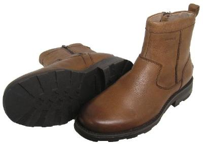 Picture of Florsheim Trektion Shearling Lined Zip Boot (Brown)