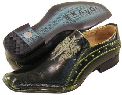 Picture of Bravo Geary Crest Slipon (Green)
